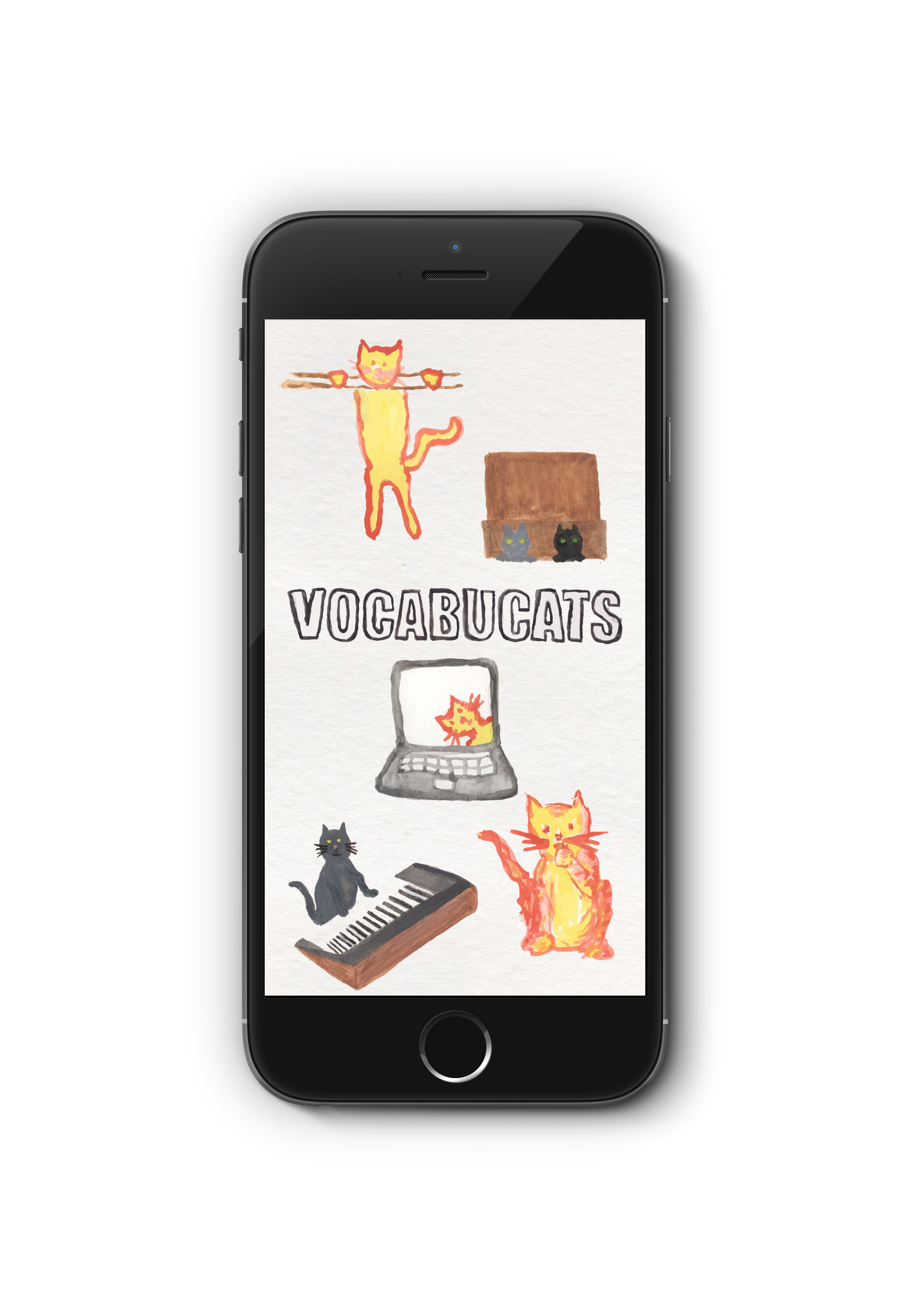 "See  the prototype for my e-learning app, Vocabucats. My instructional objective will be for students to learn an age-appropriate set of vocabulary words. My secondary instructional goal is for children to want to learn more because they enjoy the process. My mobile app will achieve this by ""game-ifying"" the process of learning. The app will cultivate an active, playful, and competitive mindset in the student as much as possible. Students will not only reach vocabulary goals, but have fun doing it. It will be used in the familiar context of the mobile device (whether phone or tablet), something children associate with play. I have observed that parents often allow children to borrow their mobile devices to distract them in boring or difficult situations, or as a special privilege. Kids love getting to play Angry Birds and other games on their parents' devices. This time, instead begging to play another level of Angry Birds, they'll be begging to try to beat another level of the vocabulary game."